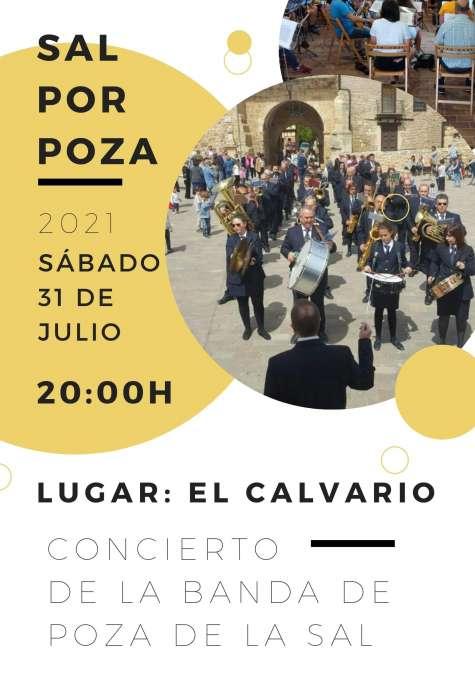 Concierto de la Banda el sábado a las 20:00h